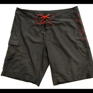 Columbia grey board shorts